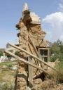 Corner of Collapsed House, Abha